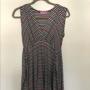 Maternal America Dresses - Maternal America Maternity Striped A-Line Dress XS
